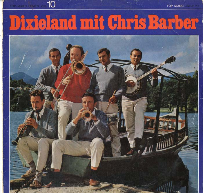 Albumcover Chris Barber - Dixieland mit Chris Barber