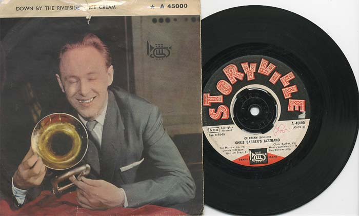Albumcover Chris Barber - Down By The Riverside / Ice Cream (rec. 9-10_1955)