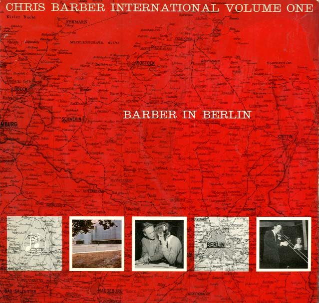 Albumcover Chris Barber - Barber in Berlin (Chris Barber International  Volume One )