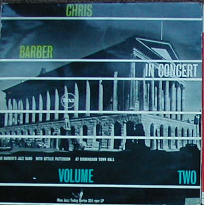 Albumcover Chris Barber - Chris Barber In Concert Volume Two  - At Birmingham Town Hall