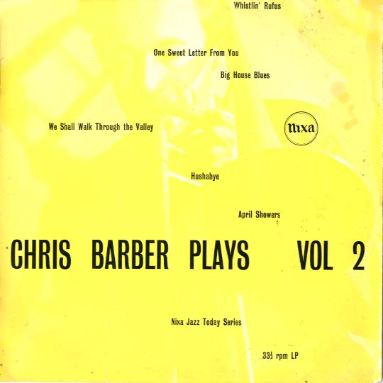 Albumcover Chris Barber - Chris Barber Plays  Vol. 2