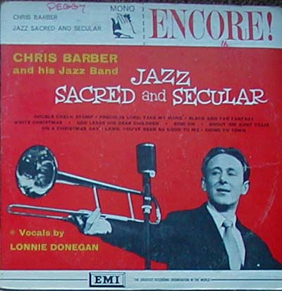 Albumcover Chris Barber - Jazz Sacred and Secular