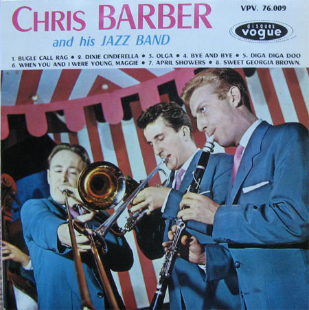 Albumcover Chris Barber - Chris Barber and his Jazz Band (25 cm)