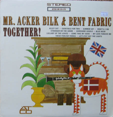 Albumcover Mr. Acker Bilk & Bent Fabric - Cocktails For Two (Atco)