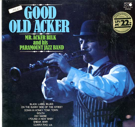 Albumcover Mr. Acker Bilk - Good Old Acker (DLP)