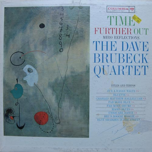 Albumcover Dave Brubeck - Time Further Out - Miro Reflections