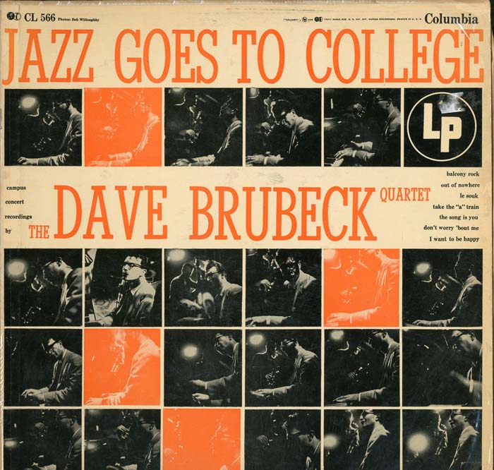 Albumcover Dave Brubeck - Jazz Goes To College