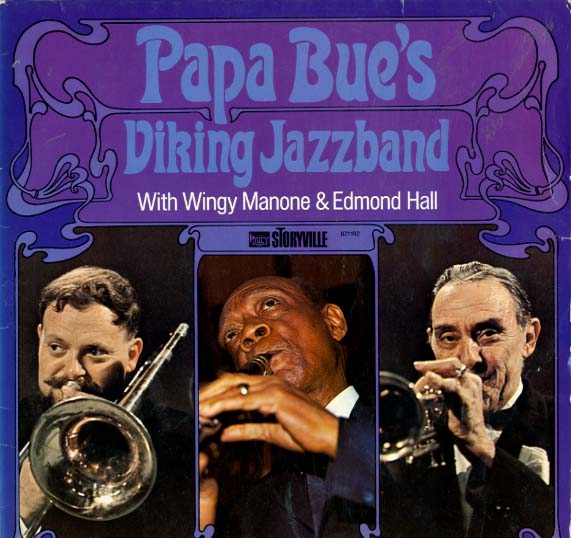 Albumcover Papa Bues Viking Jazzband - With Wingy Manone and Edmond Hall