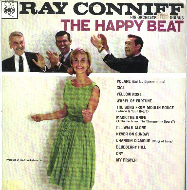 Albumcover Ray Conniff - The Happy Beat