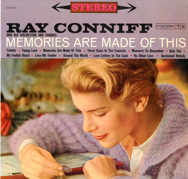Albumcover Ray Conniff - Memories Are Made Of This