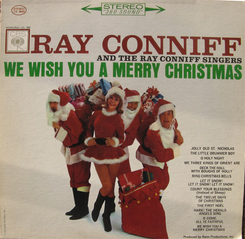 Albumcover Ray Conniff - We Wish you A Merry Christmas