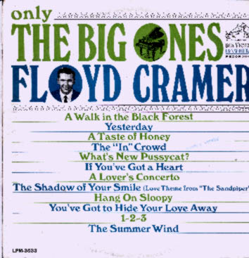 Albumcover Floyd Cramer - Only The Big Ones