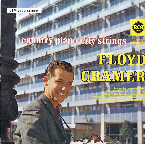 Albumcover Floyd Cramer - Country Piano - City Strings