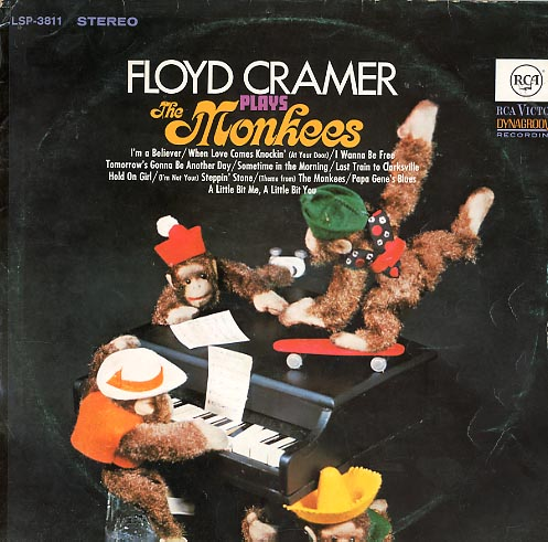 Albumcover Floyd Cramer - Plays The Monkees