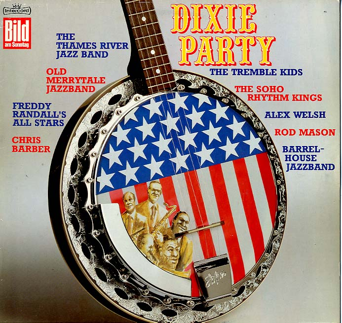 Albumcover Various Jazz Artists - Dixie Party (BamS)