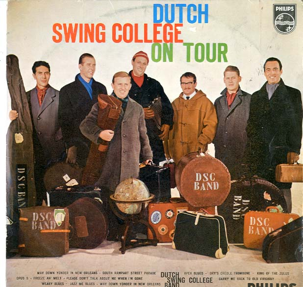 Albumcover Dutch Swing College Band - Dutch Swing College On Tour