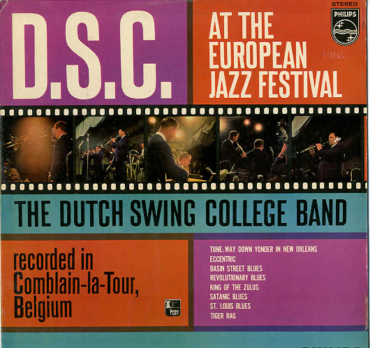 Albumcover Dutch Swing College Band - D. S. C. At The European Jazz Festival