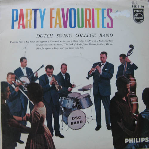 Albumcover Dutch Swing College Band - Party Favourites (Orig.)