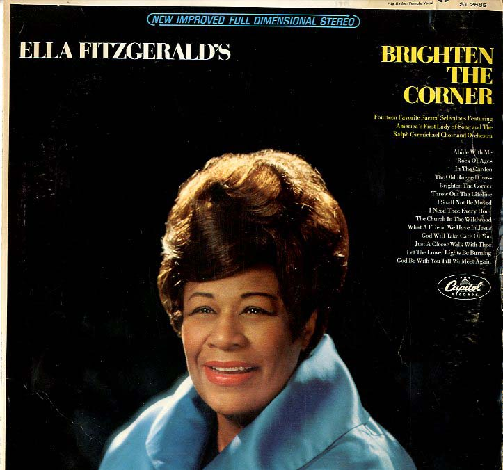 Albumcover Ella Fitzgerald - Brighten The Corner