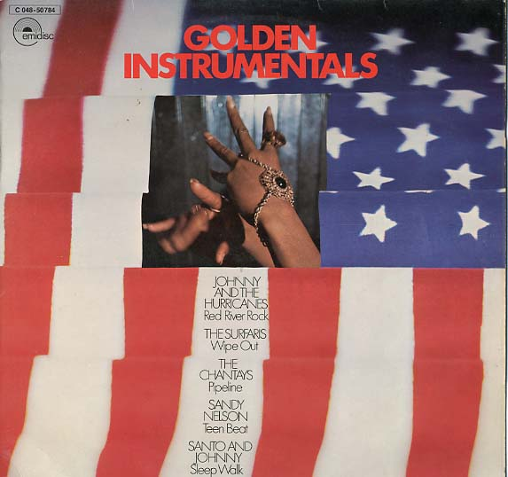 Albumcover Various Instrumental Artists - Golden Instrumentals