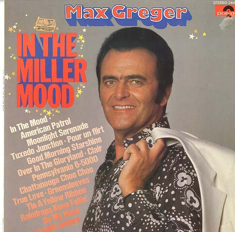 Albumcover Max Greger - In The Miller Mood