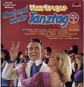 Albumcover Max Greger - Mach mal wieder Tanztag