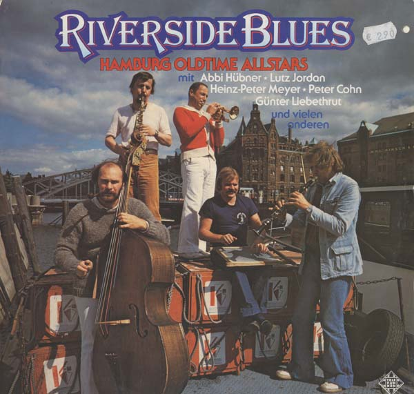 Albumcover Hamburg All Stars - Riverside Blues