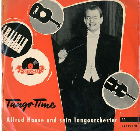 Albumcover Alfred Hause - Tango Time 25 cm)