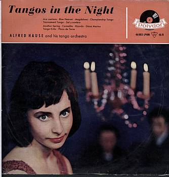 Albumcover Alfred Hause - Tangos in the Night