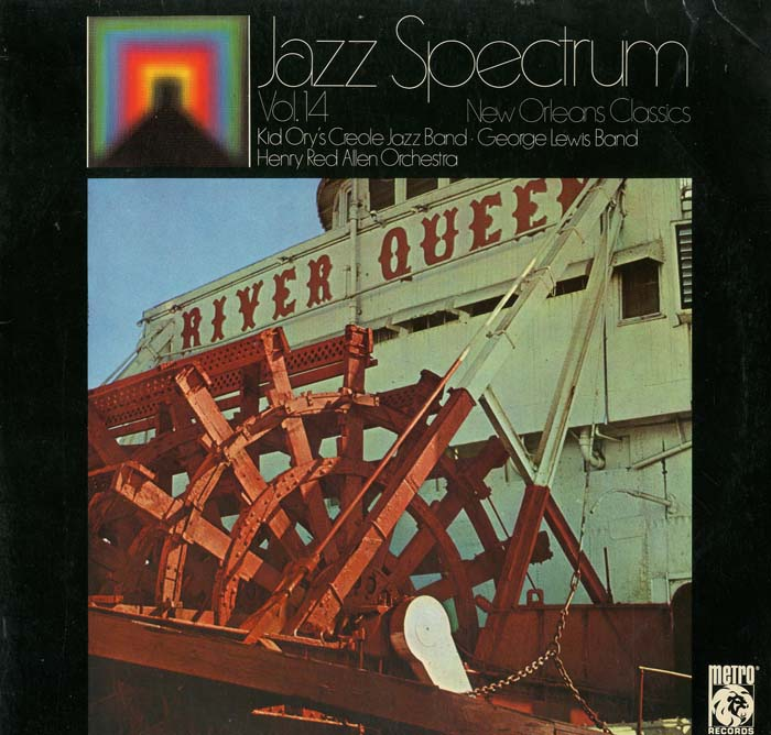 Albumcover Various Jazz Artists - New Orleans Classics (Jazz Spectrum Vol. 14)
