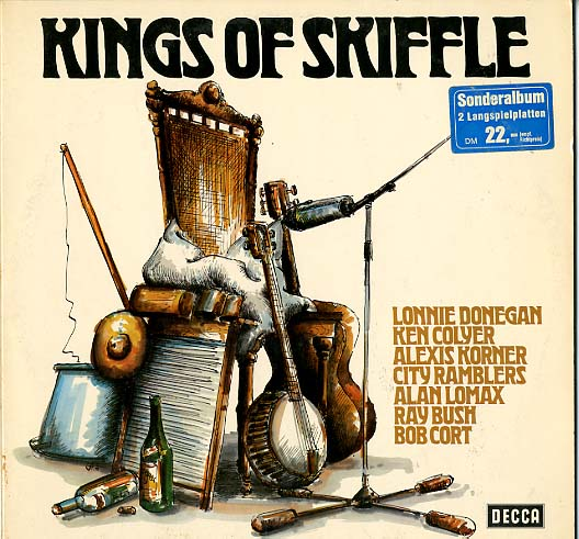 Albumcover Various GB-Artists - Kings of Skiffle (DLP)