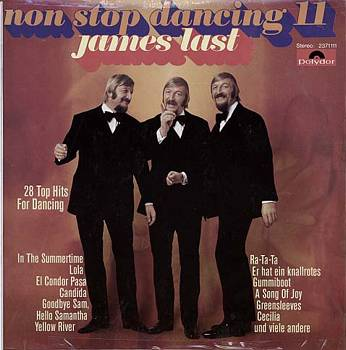 Albumcover James Last - Non Stop Dancing 11 - 28 Top Hits for Dancing (u.a. In the Summertiome, Lola, Yellow River, Ra-Ta-Ta))