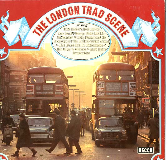 Albumcover Various Jazz Artists - The London Trad Scene (DLP)