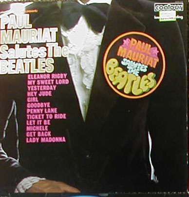 Albumcover Paul Mauriat - Paul Mauriat Salutes The Beatles