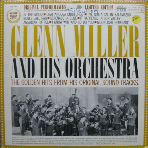 Albumcover Glenn Miller & His Orchestra - Golden Hits From Original Sound Tracks