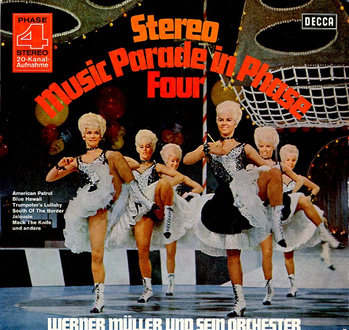 Albumcover Werner Müller - Stereo Musik Parade in Phase Four
