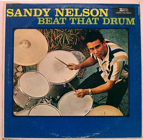 Albumcover Sandy Nelson - Beat That Drum