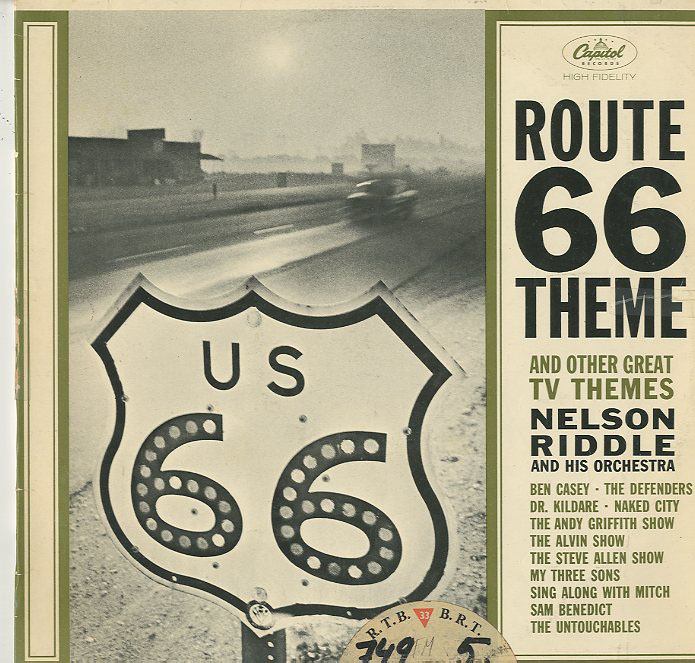 Albumcover Nelson Riddle - Route 66 Theme and Other Great TV Themes