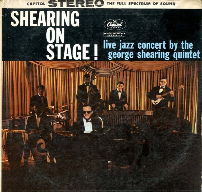 Albumcover George Shearing Quintett - Shearing On Stage