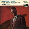 Cover: Dave Brubeck - Dave Brubeck / Newport 1958 - recorded at the Newport Jazz Festival