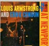 Cover: Armstrong, Louis - Louis Armstrong and Eddie Condon at Newport