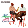 Cover: Louis Armstrong und Oscar Peterson - Louis Armstrong Meets Oscar Peterson