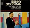 Cover: Benny Goodman - Benny Goodman / The Famous 1938 Carnegie Hall Jazz Concert (D-LP)