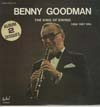 Cover: Benny Goodman - The King of Swing - 1958 - 1967 Era (DLP)