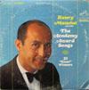 "Cover: Henry Mancini - Henry Mancini / The Academy Award Songs - 31 ""Oscar"" Winners 1934 - 1964 (DLP)"