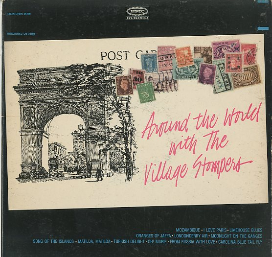 Albumcover The Village Stompers - Around Thew World with The Village Stompers