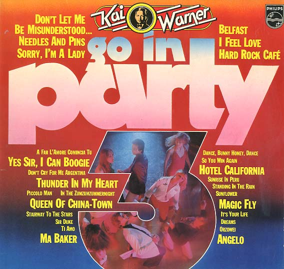 Albumcover Orchester Kai Warner - Go in Party 3