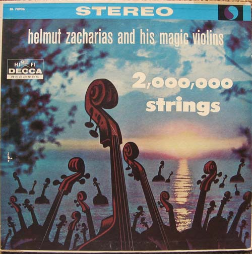 Albumcover Helmut Zacharias - 2,000,000 Strings