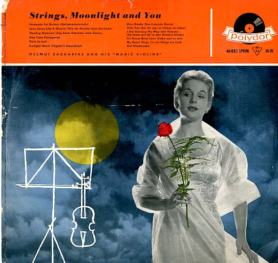 Albumcover Helmut Zacharias - Strings, Moonlight and You
