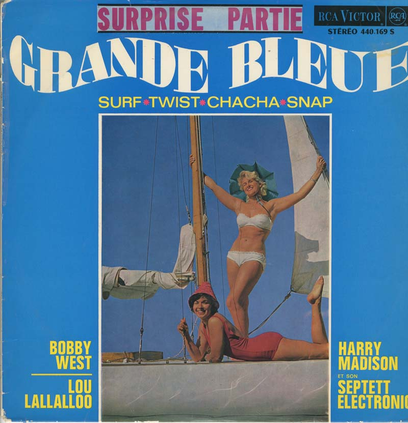 Albumcover Various International Artists - Grande Bleue - Surprise Partie
